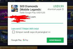 Trik Cara Top Up Diamond ilegal Mobile Legends ( ML ) Gratis 2019