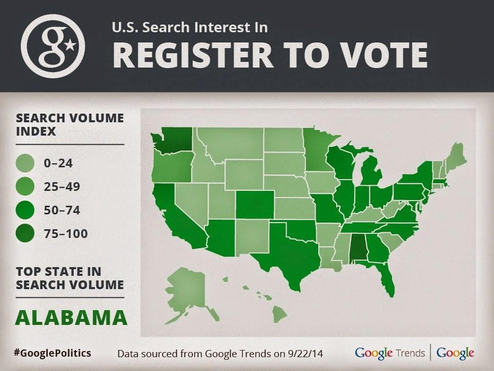 Politics & Elections Blog: Ok Google, how do I vote?