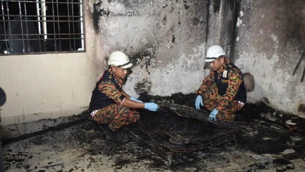 Tahfiz Shah Alam terbakar