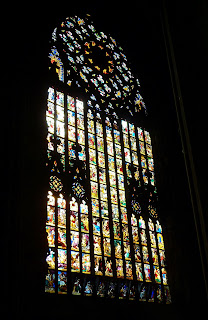 Stained Glass Windows in Milan's Cathedral