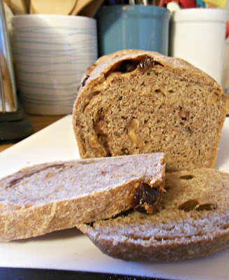 Basic Wheat Bread, easy no-knead process, perfect for a new baker to master.
