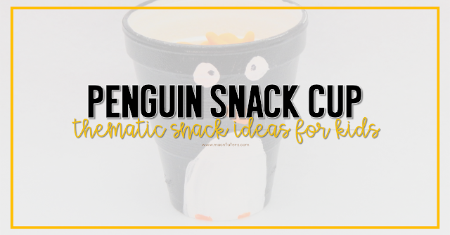 Penguin Snack Cup