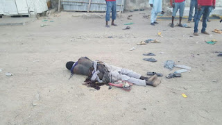 Suicide bomber kills self in failed attack on Borno mosque