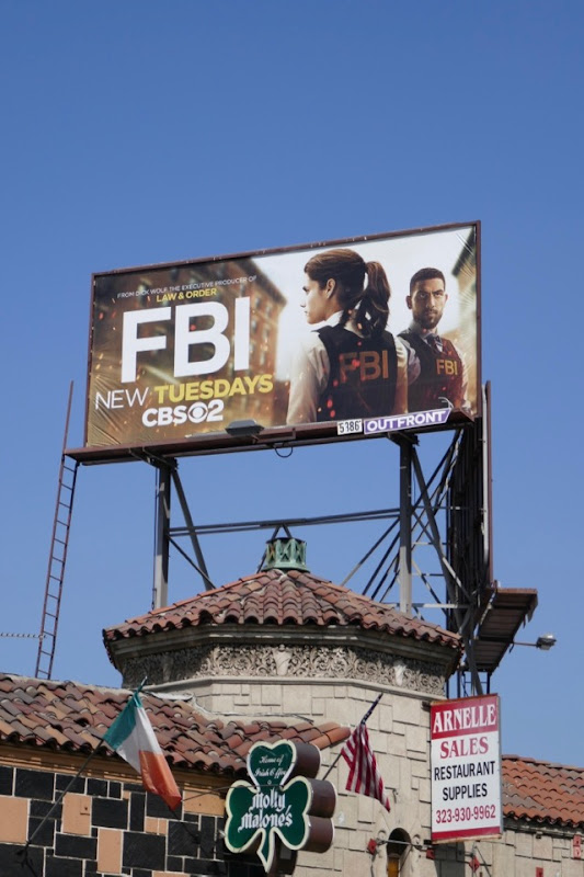FBI season 1 billboard