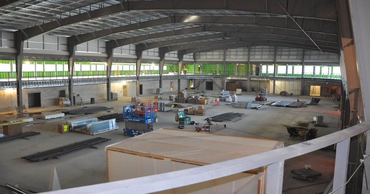 New 3 Court Hardwood Floor Gymnasium At Dakota Community