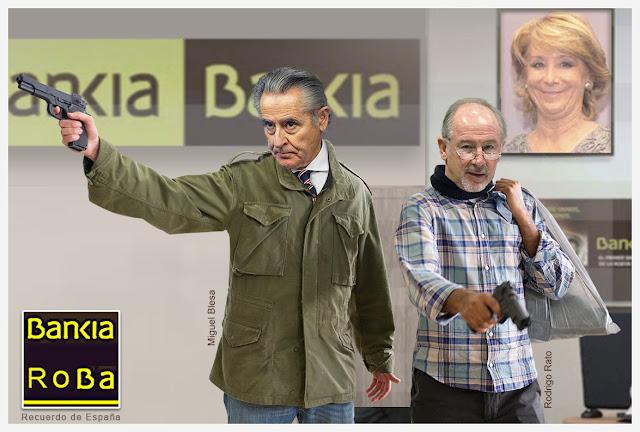 Una bala libra a la sociedad española de Miguel Blesa, los jueces no lo hicieron.¿Quien repone los sufrimientos padecidos, y las vidas perdidas de los preferentistas, por culpa de éste mal nacido?.