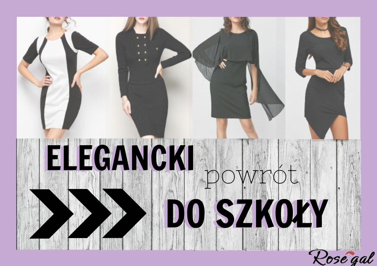 CASUAL BODYCON DRESS - ELEGANCKI POWRÓT DO SZKOŁY