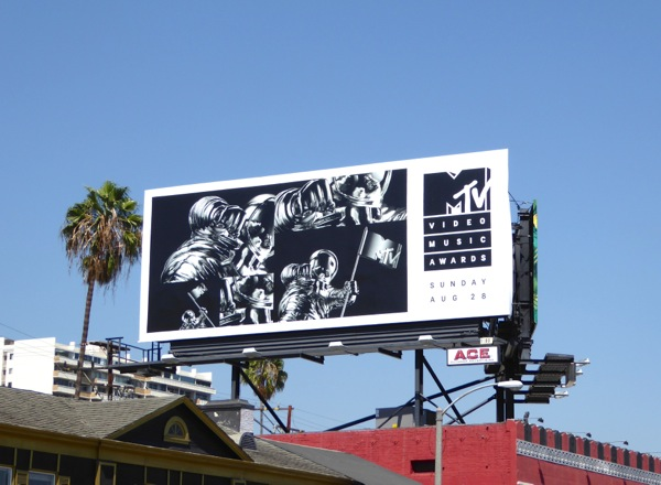 MTV Video Music Awards billboard 2016