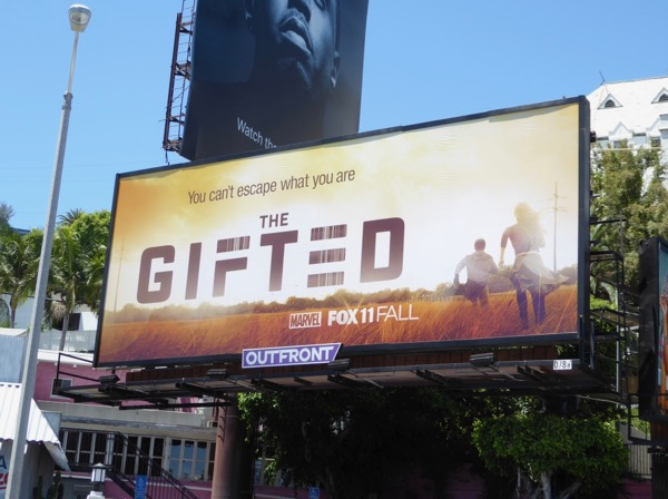 Gifted series teaser billboard