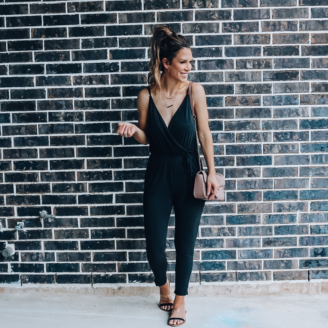69a10ab5aea8 I have been looking for months for a casual summer jumpsuit. One of my  favorite summertime trends is jumpsuits and rompers.