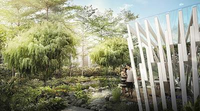 Sky Vue Bishan - Rain Garden