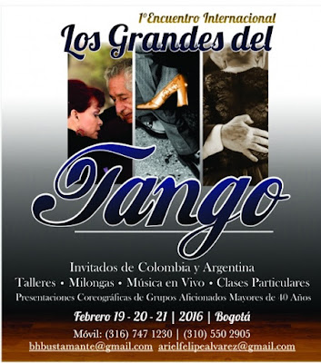 Encuentro Internacional Los Grandes del Tango
