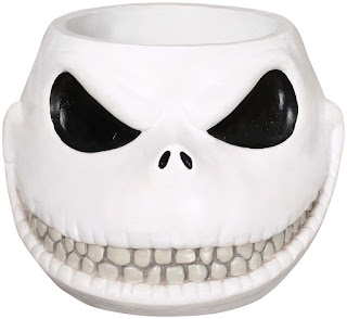"The Nightmare Before Christmas Jack Skellington 8"" Candy Bowl - White"
