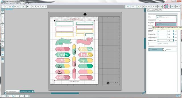 Come utilizzare i file dxf nella modalità Print & Cut | Silhouette Cameo 8