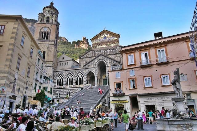 Melhores regiões para se hospedar em Amalfi