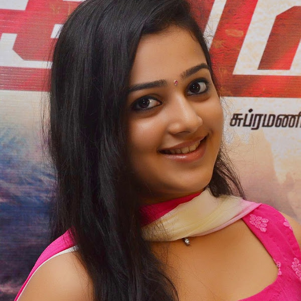 Samskruthy Shenoy latest hot photos in churidar from Vil Ambu Audio Launch