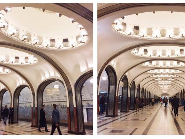 Le métro à Moscou
