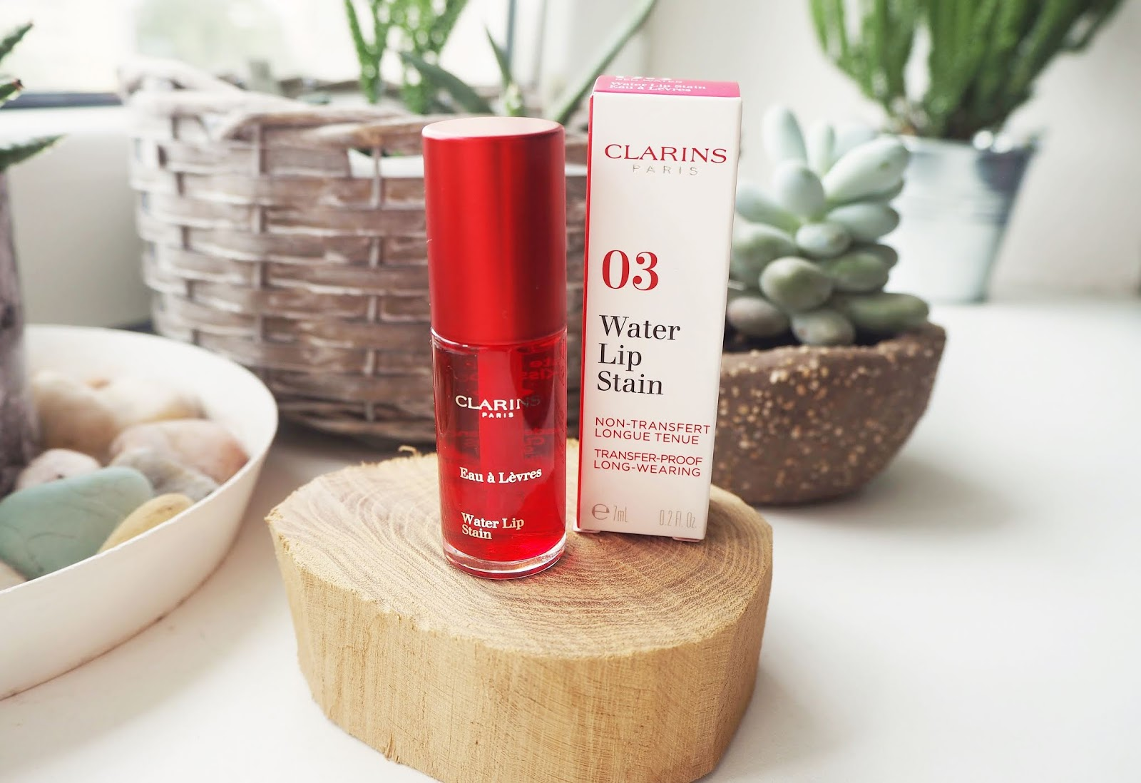 RECENZE - CLARINS WATER LIP STAIN (03 RED WATER)