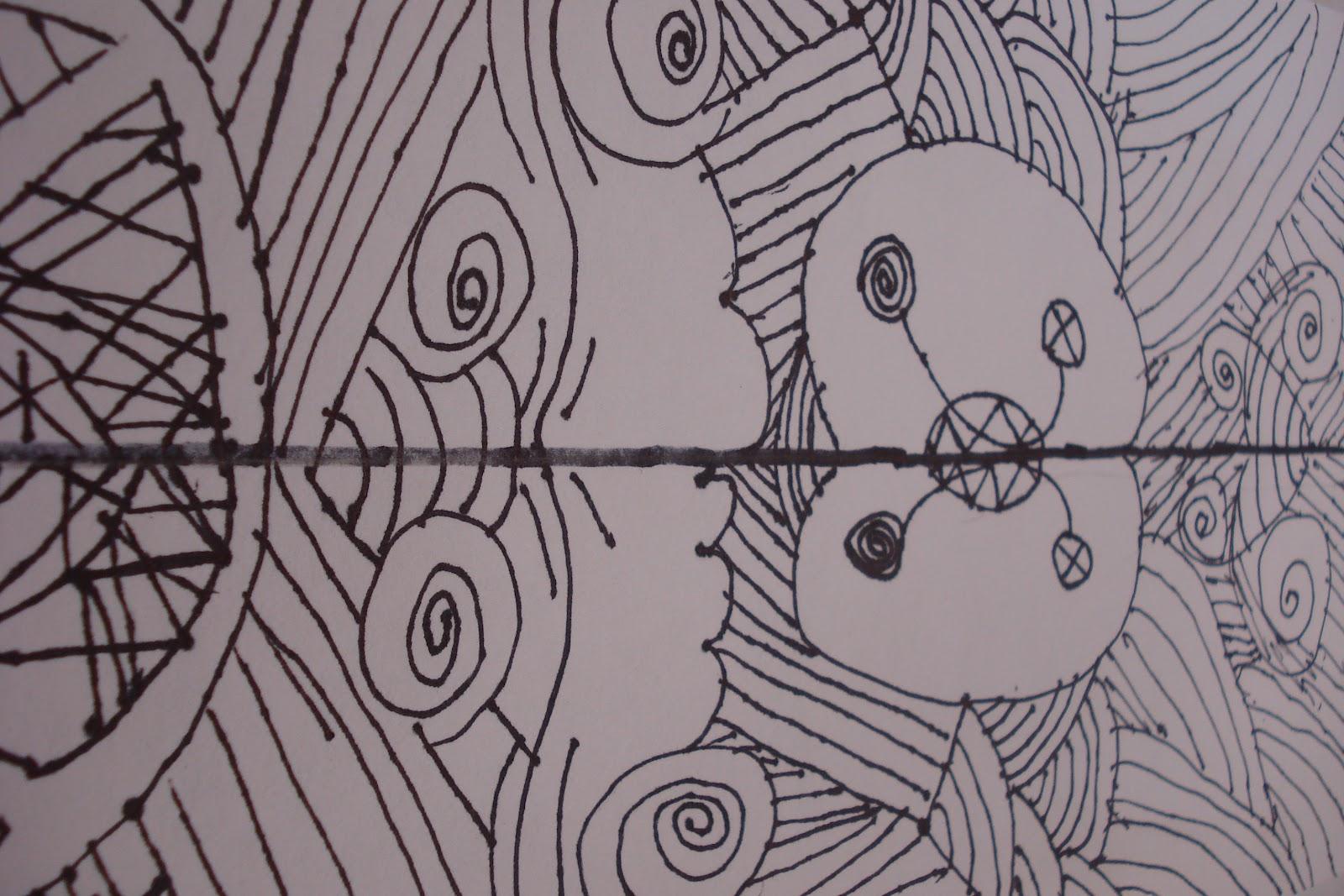 The Crearttivity Spot 3rd Grade Symmetrical Line Drawings