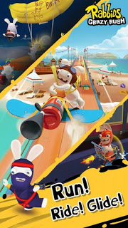 Download Rabbids Crazy Rush Apk v1.0.4 (Mod Money) Terbaru