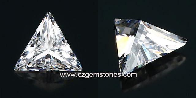 Triangle Cut Cubic Zirconia AAAAA