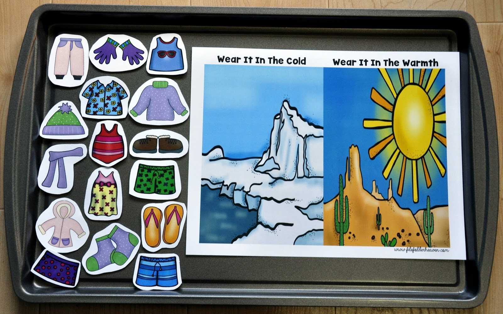 File Folder Heaven Blog It S Cold Outside Adapted Book