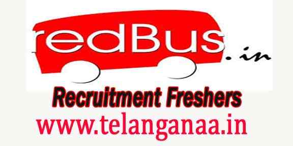 redBus Recruitment 2018 For Freshers