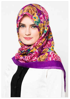 Jilbab Zoya Terbaru Segi Empat Terbaru