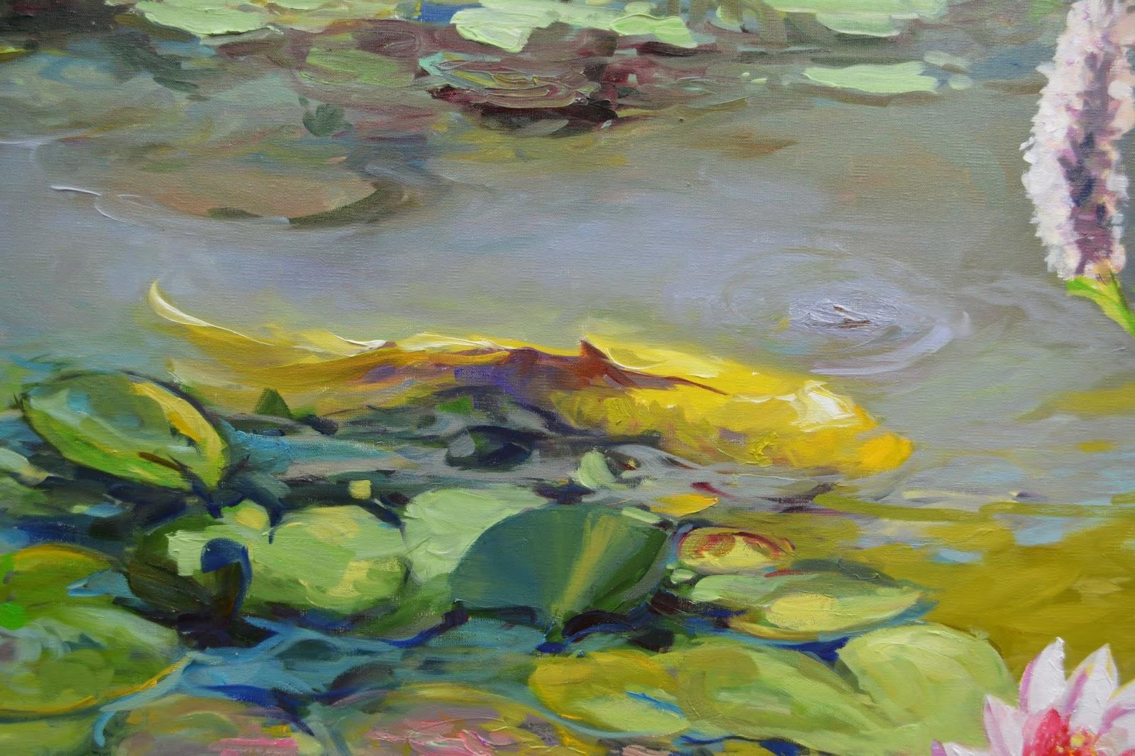 Chuck Larivey OPA, Oil Painter