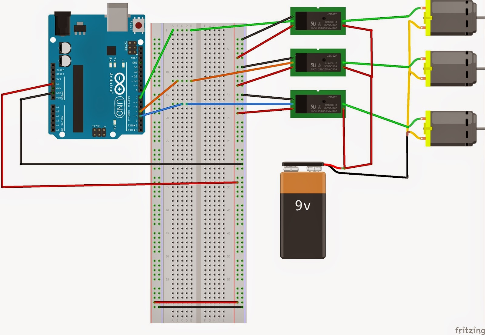 COURSE ON ARDUNIO: Controlling relay using Arduino and Labview