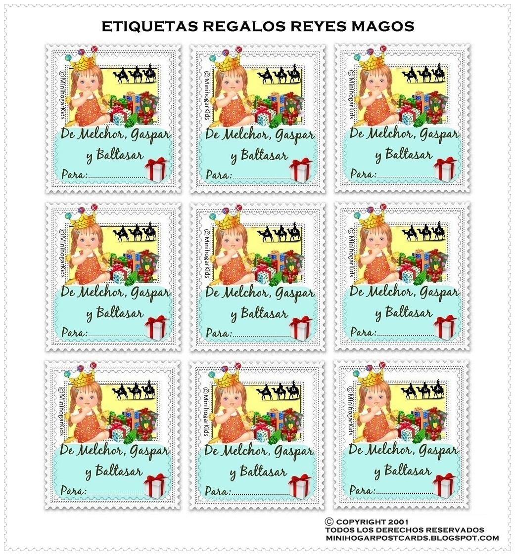 Minihogar postcards for In regalo gratis