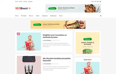 seo boost blogger template responsive 2018