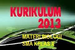 Materi Biologi SMA Kelas X Kurikulum 2013