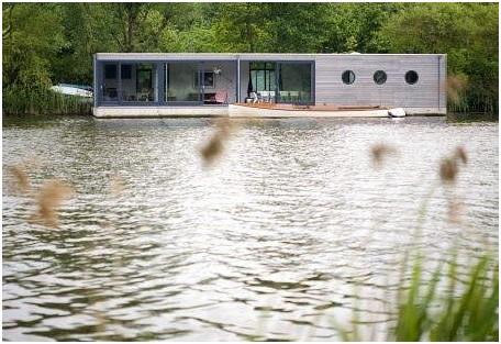 design for loft logement insolite les maisons flottantes. Black Bedroom Furniture Sets. Home Design Ideas