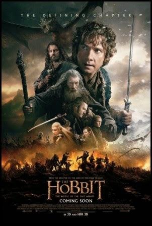 Póster de El Hobbit: la batalla de los cinco ejércitos (2014)