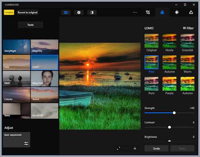 Camera360 : Διαχειριστείτε και προσθέστε εφέ στις φωτογραφίες σας