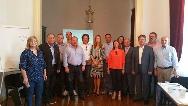 """Συνεδρίαση του Διοικητικού Συμβουλίου του """"Δικτύου Δήμων των Εκλεκτών Ελληνικών Γεύσεων"""""""