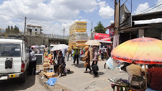 Addis Ababa Market has all kind of stuff for locals