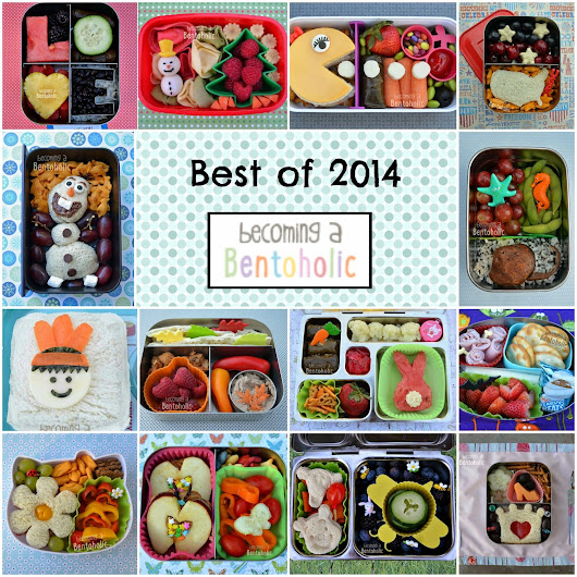 Top 14 Bento Lunches of 2014     ~      Becoming A Bentoholic