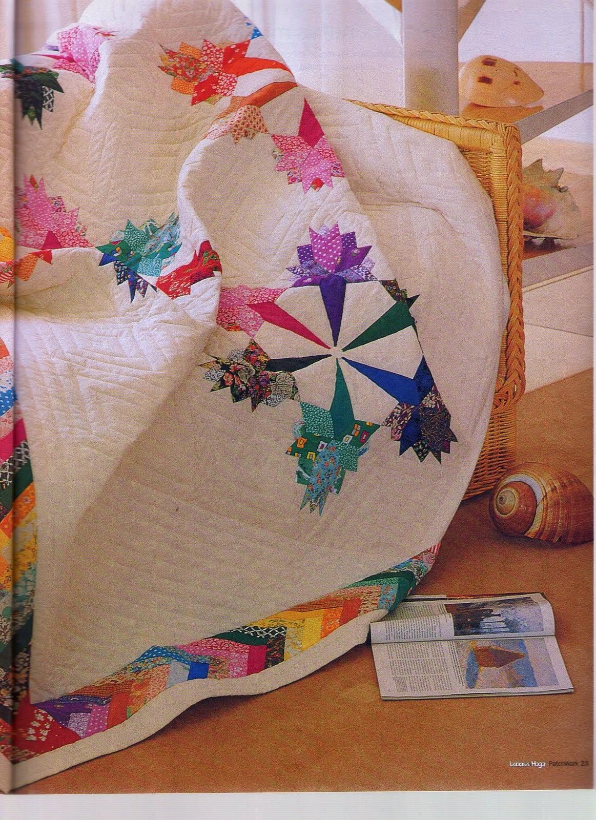 Como hacer gallinas en patchwork revistas de - Como hacer pachwork ...