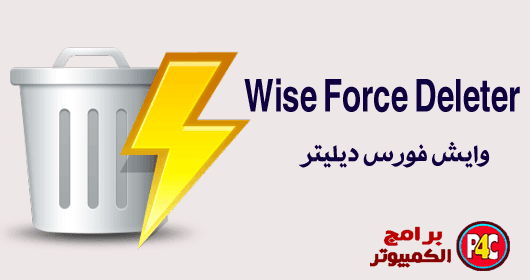 برنامج حذف الملفات من الويندوز Wise Force Deleter 1.42