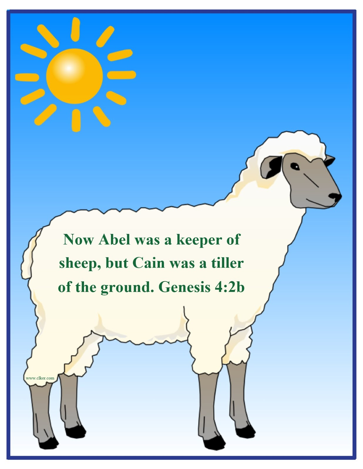 Bible Fun For Kids Genesis Bible Verse Printables