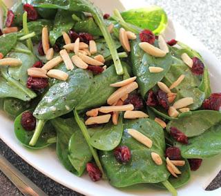 Jamie's Cranberry Spinach Salad Recipe