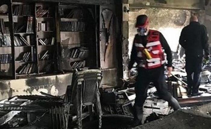 إصابات في حريق داخل كنيس لليهود المغاربة في إسرائيل
