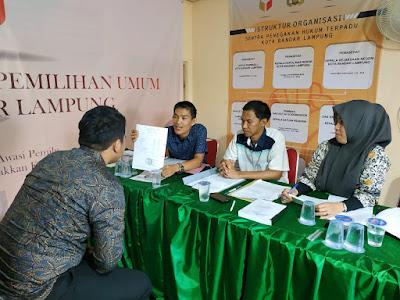 Bawaslu Bandar Lampung Terima Surat Pengunduran Diri Bacaleg Dapil 6