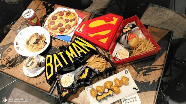 DC Comics Superheroes Café, sky avenue, genting highlands,