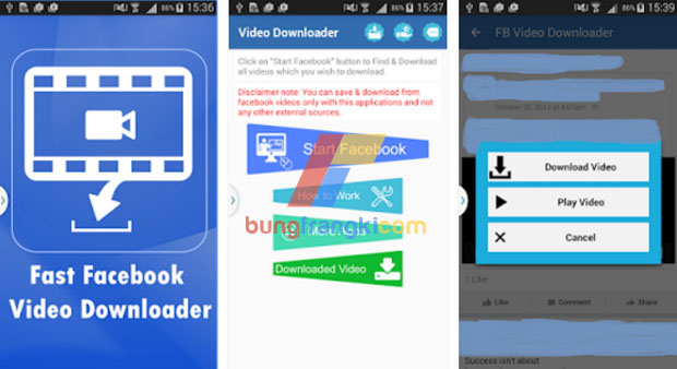 aplikasi Easy Facebook Video Downloader