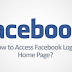 Www.facebook.com Login Home Page