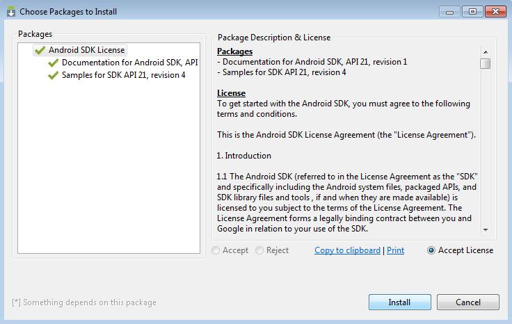 Install SDK Mnajer Android Studio | Caratutrorial.com