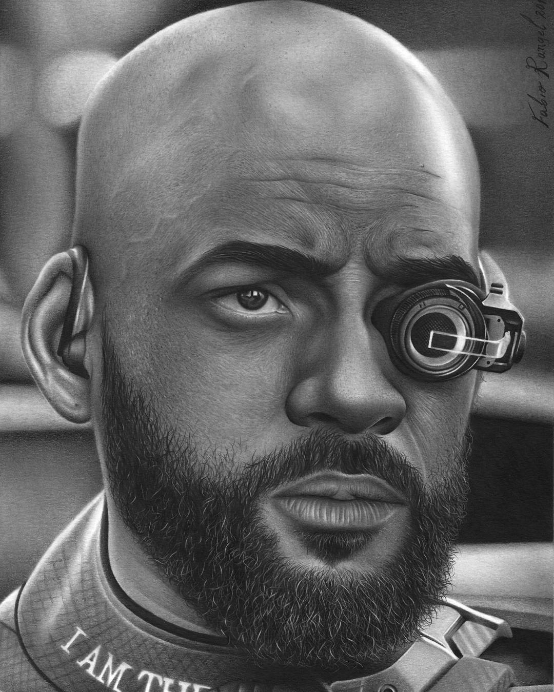 10-Will-Smith-Deadshot-Suicide-Squad-Fabio-Rangel-Drawings-of-Protagonists-from-TV-and-Movies-www-designstack-co